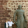 Silves-statue de Don Sancho I