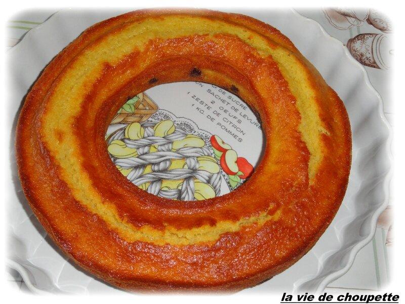 gateau yaourt aux griottes-11