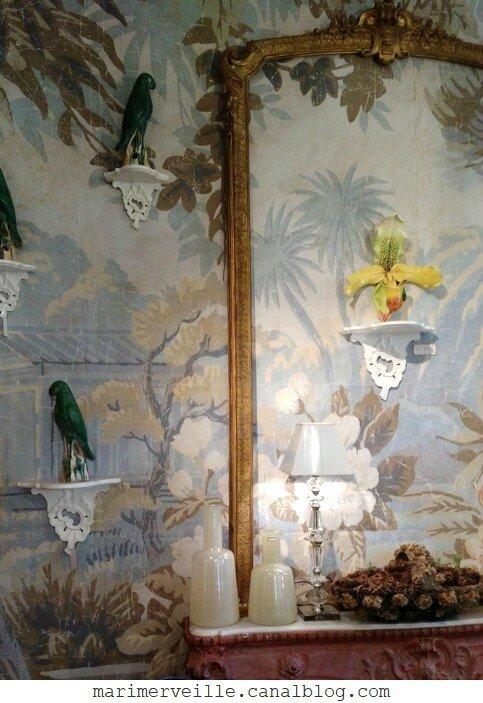 Papier peint ancien Mis en demeure - Paris- Marimerveille