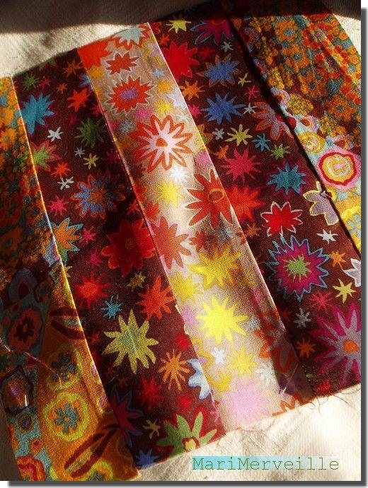 Méli-mélo textile bohème
