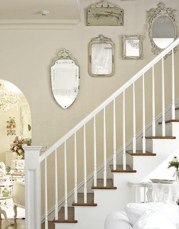 Très Décoration pour cage d'escalier / Staircase Wall Decoration - CE  WH06