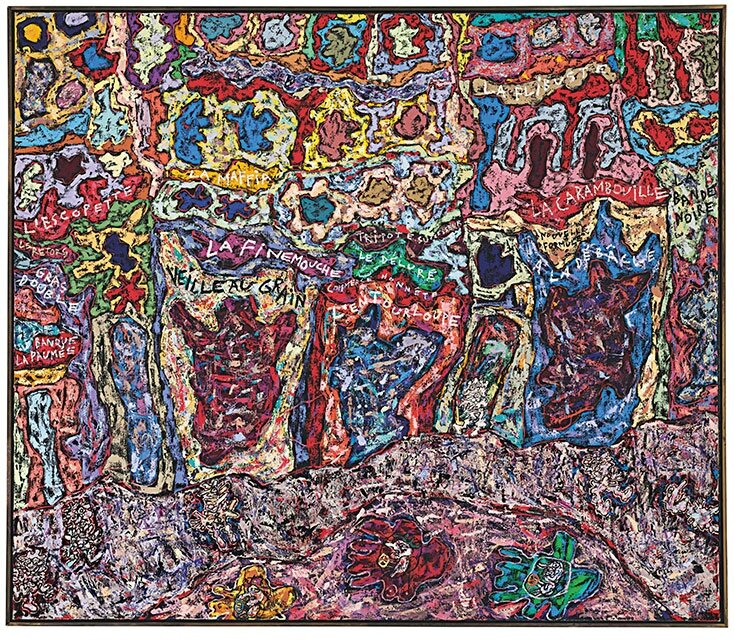 Christie's to offer one of the most important works by Jean Dubuffet still in private hands