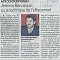 L'express, 31/08/2015.