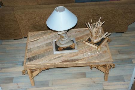 Nouvelles cr ations bois flott s les ateliers recup 39 d for Realisation bois flotte