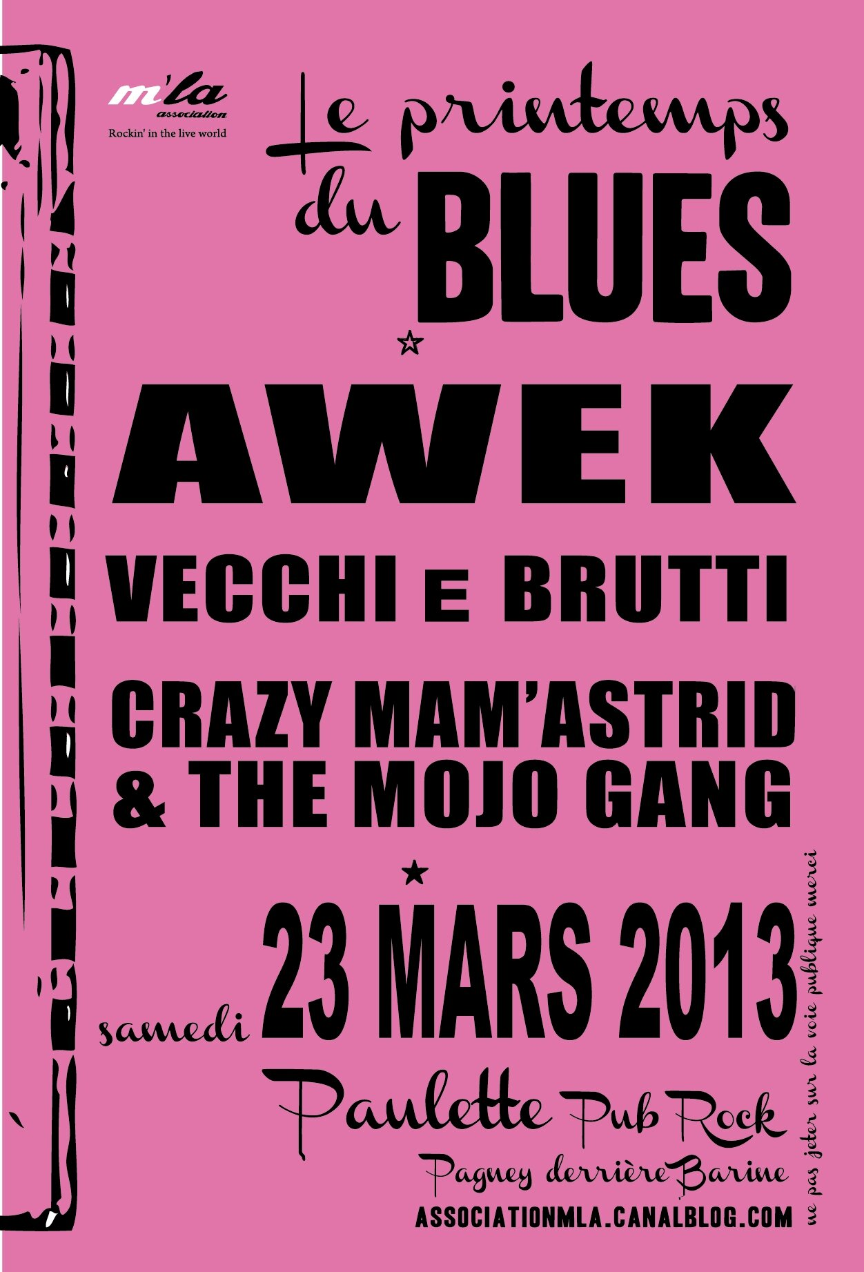 Printemps du Blues - Chez Paulette 23/03/12 82286235_o