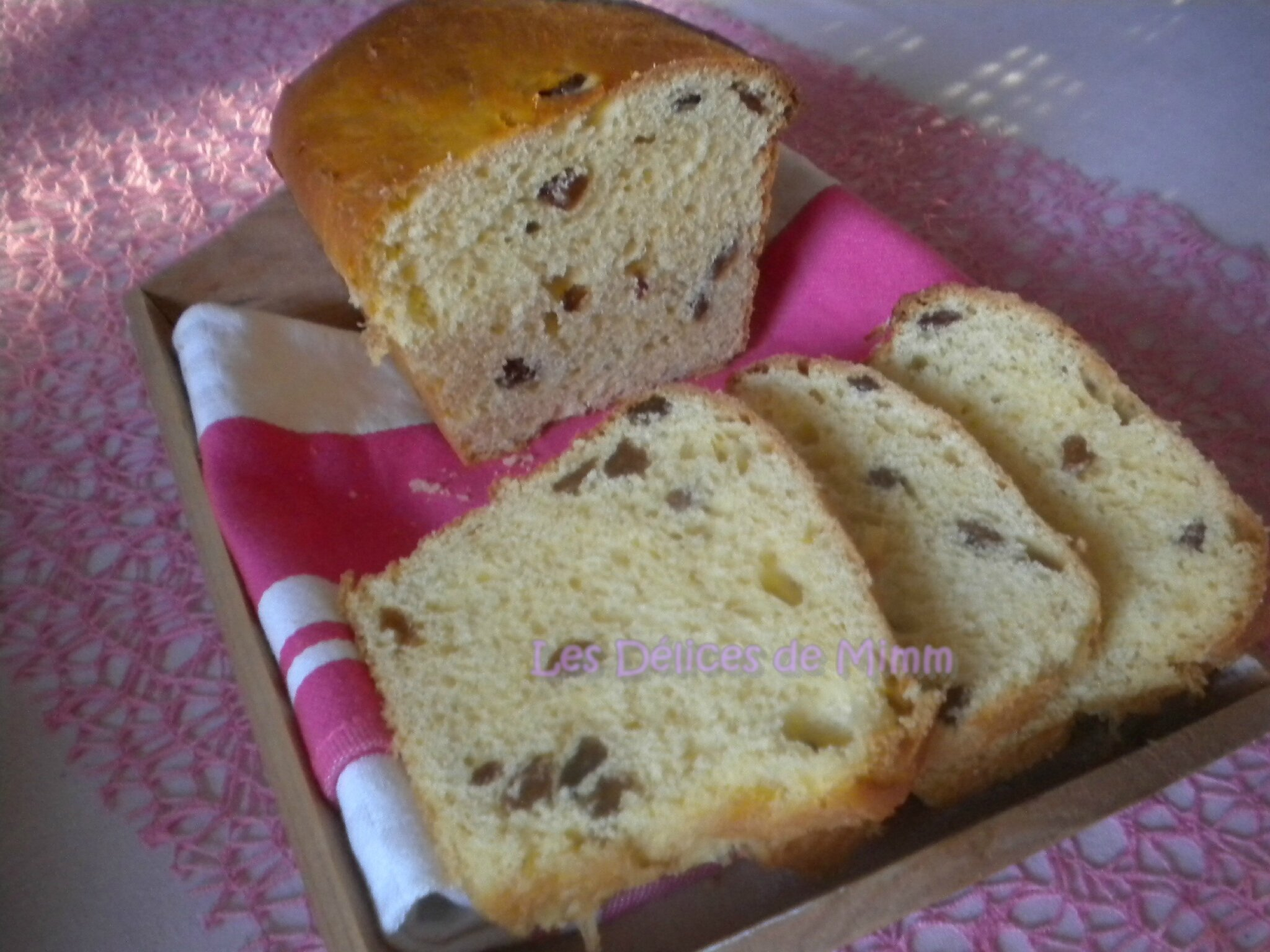 Gateau pain raisin