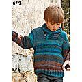 Pull en laine katia azteca pour enfant