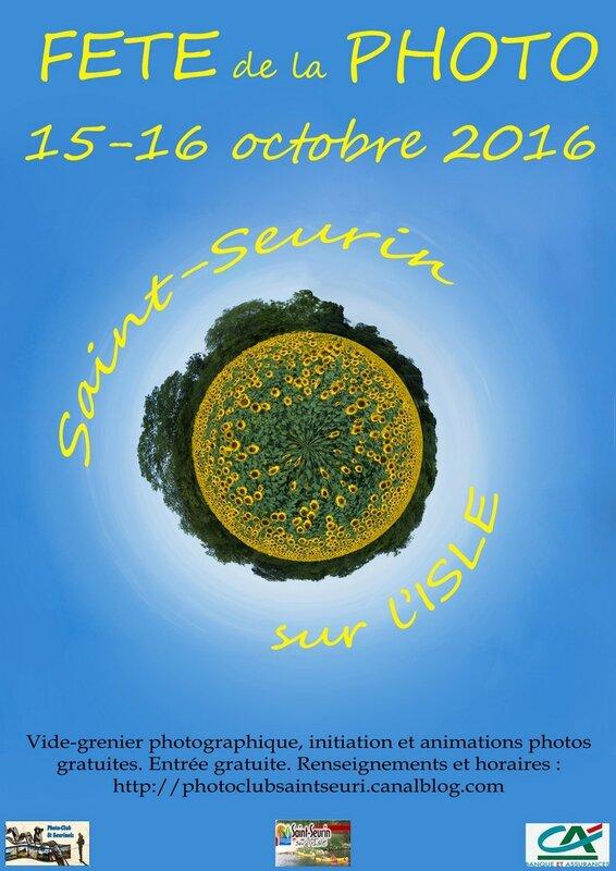 Claude - affiche planete tournesol