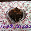 Brownies marbrés