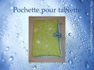 121 pochette tablette