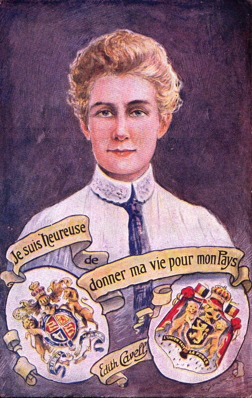 CPA Edith Cavell Je suis heureuse