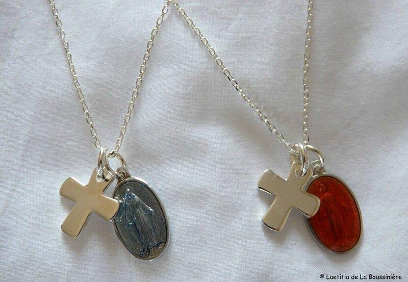 collier de l'Immaculée Conception