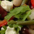 SALADE AUX TROIS HARICOTS