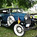 FORD Model A 2door Phaeton Deluxe 180-A 1930 Baden Baden (1)