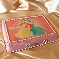Gâteau disney princesses