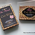 Cat eyes la palette feline de too faced:presentation/swatchs.......