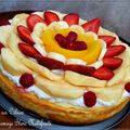 Gâteau fromage blanc multifruits