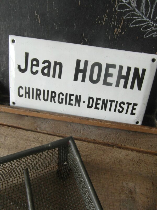 plaque dentiste