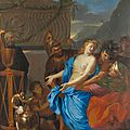 French masterpiece by 17th century artist Charles Le Brun discovered in the Hotel Ritz