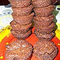 Envie d'un muffin ? testez le muffin chocolat-spéculoos !