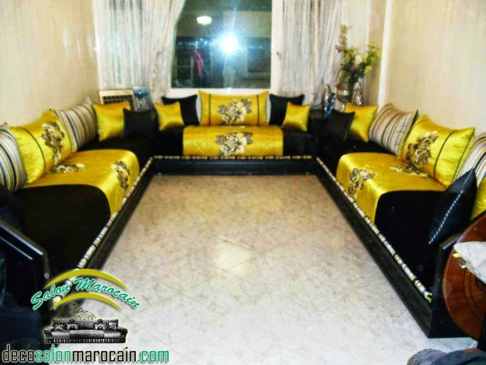 D cor luxueuse salon marocain salon marocain moderne for Decoration salon francais