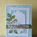 Stampin up cartes et swap