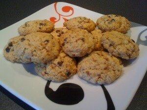 Cookies praliné flocon d avoine