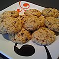 Cookies praliné flocon d avoine