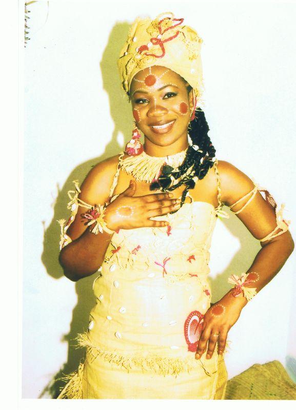 ... photos - Mode et beauté traditionnelle, mariage coutumier au Gabon