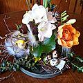 Déco de table + déco de porte sur le thème de pâques par marie-paule
