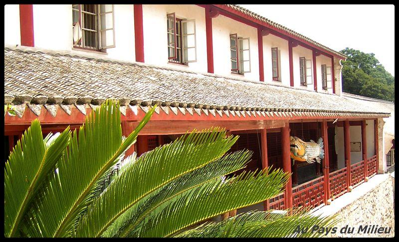 Ile de Putuo Shan batiment administratif d un temple