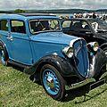Fiat 508 balilla berline 4 portes, 1932 à 1937