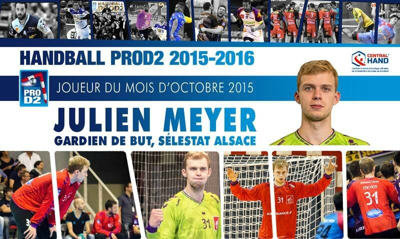 Julien MEYER, MVP octobre 2015