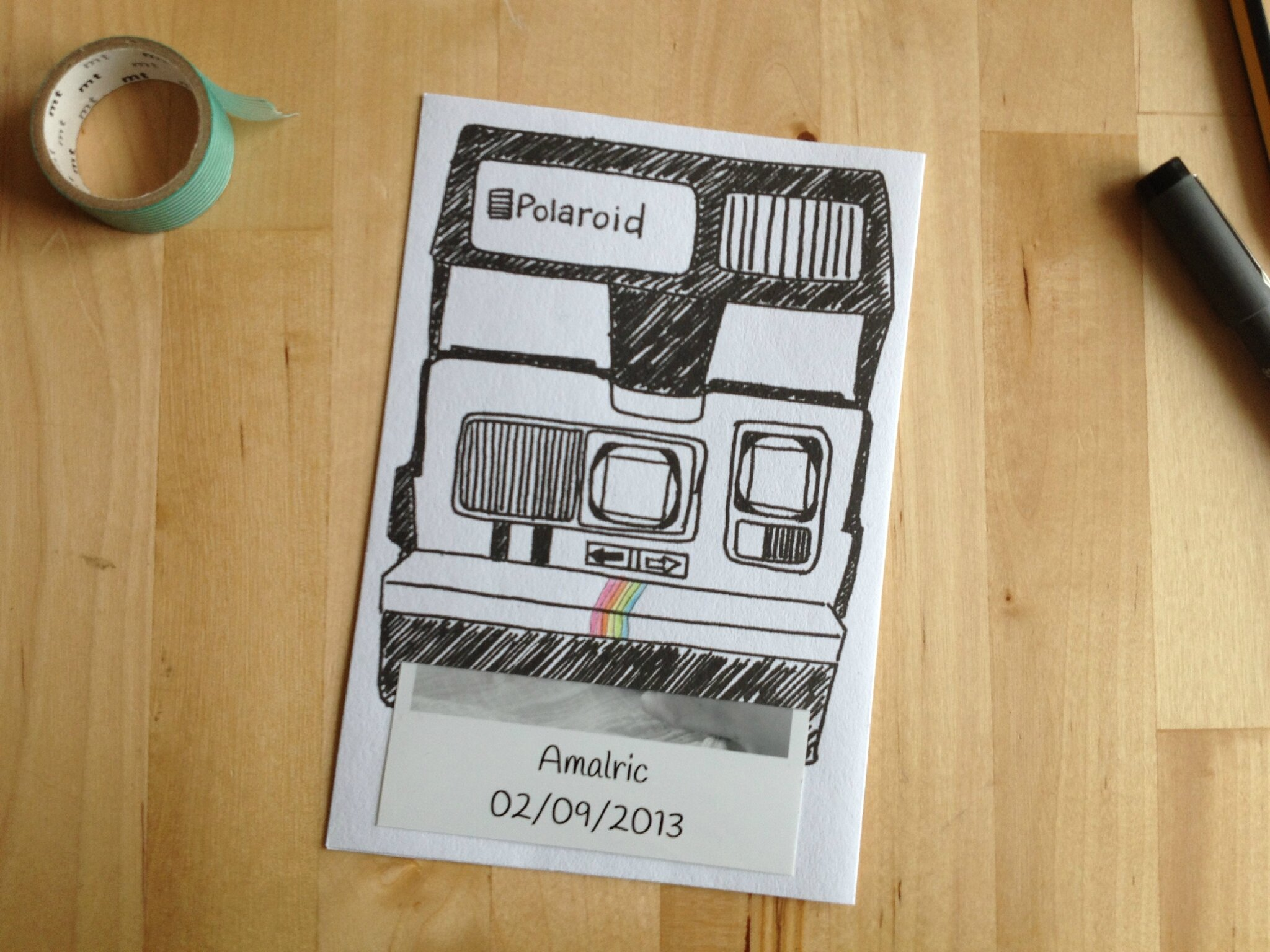 Faire-part Polaroid #DIY