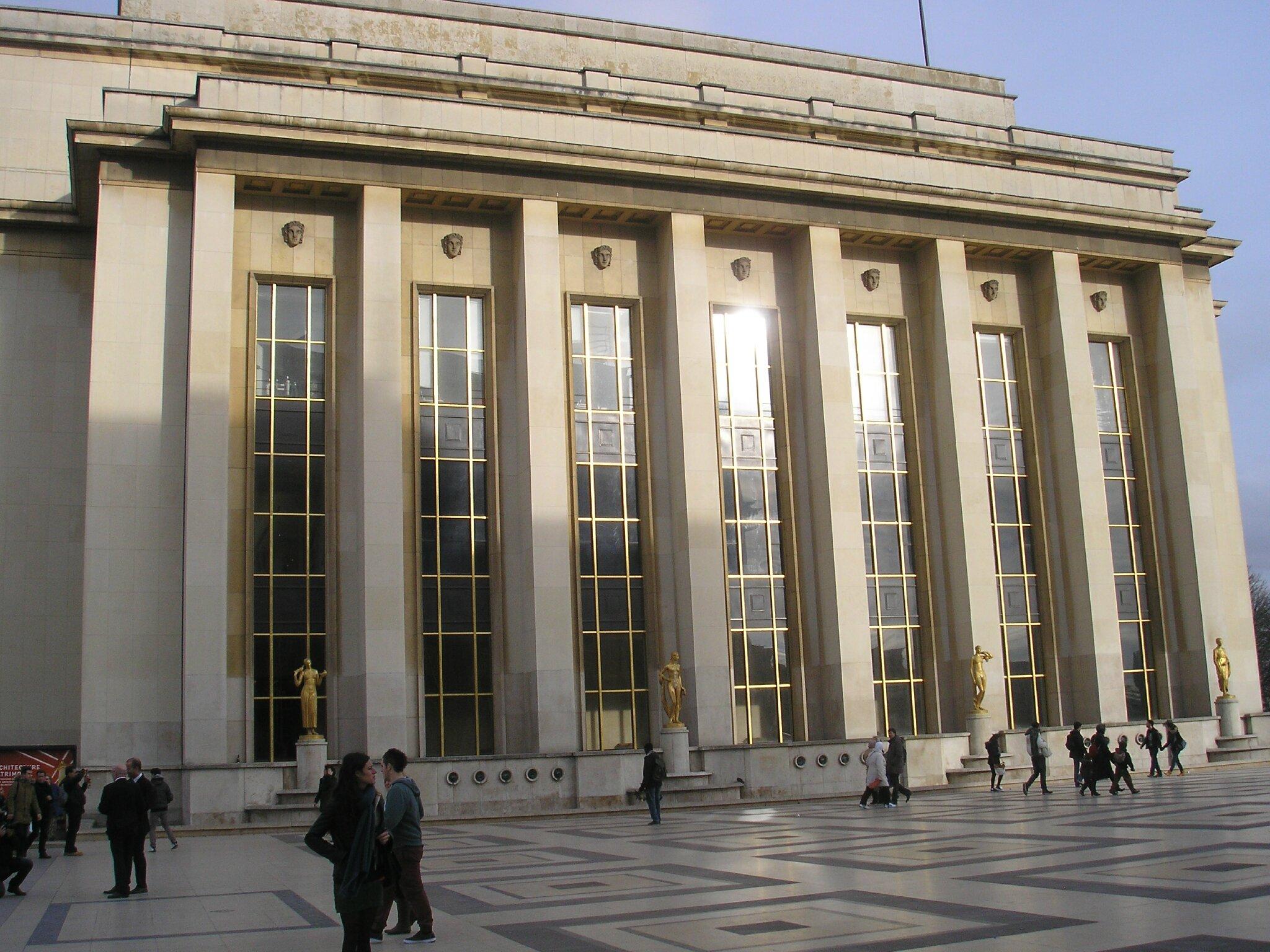 l exposition art déco du palais de chaillot du mercredi 16 octobre