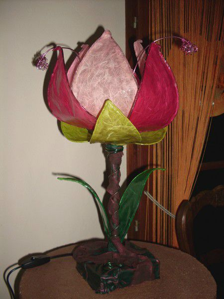Lampe Fleur Exoticcreation