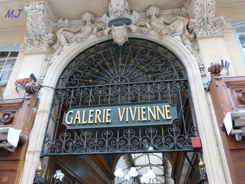 ENTREE DE LA GALERIE VIVIENNE