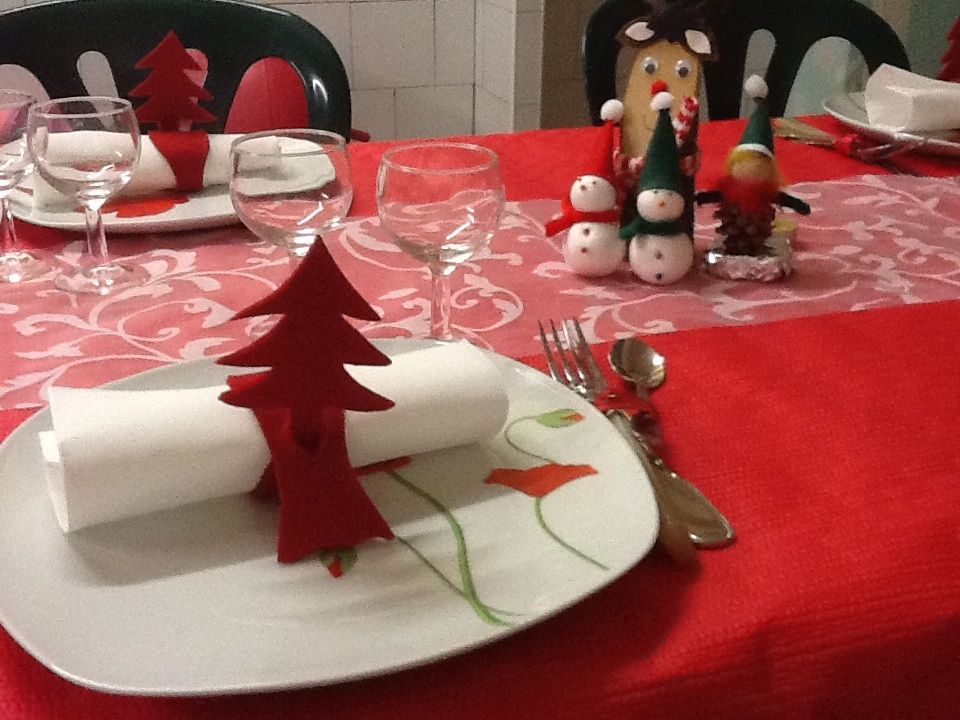 Deco de table de no l les pelotes magiques de charlottefil for Decoration de table de noel
