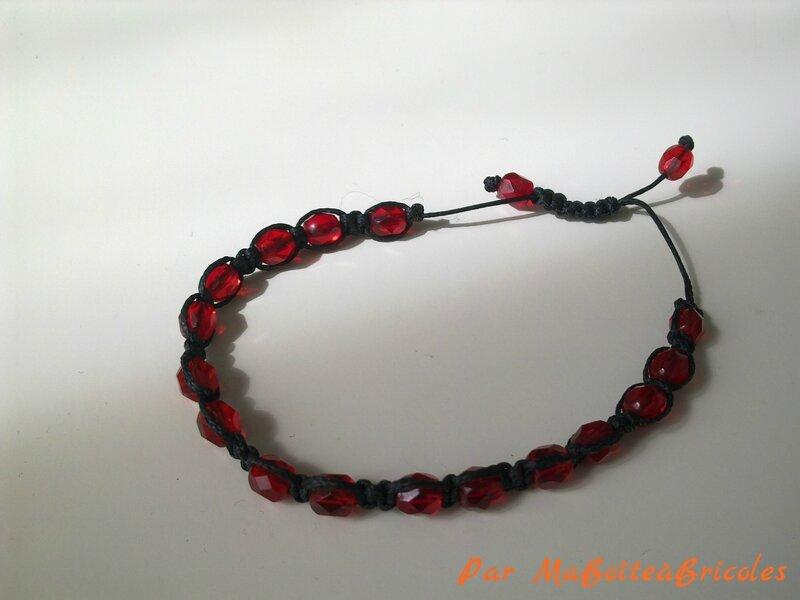 Bracelet Shamballa - MaBoîteàBricoles
