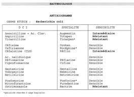 examen - antibiogramme