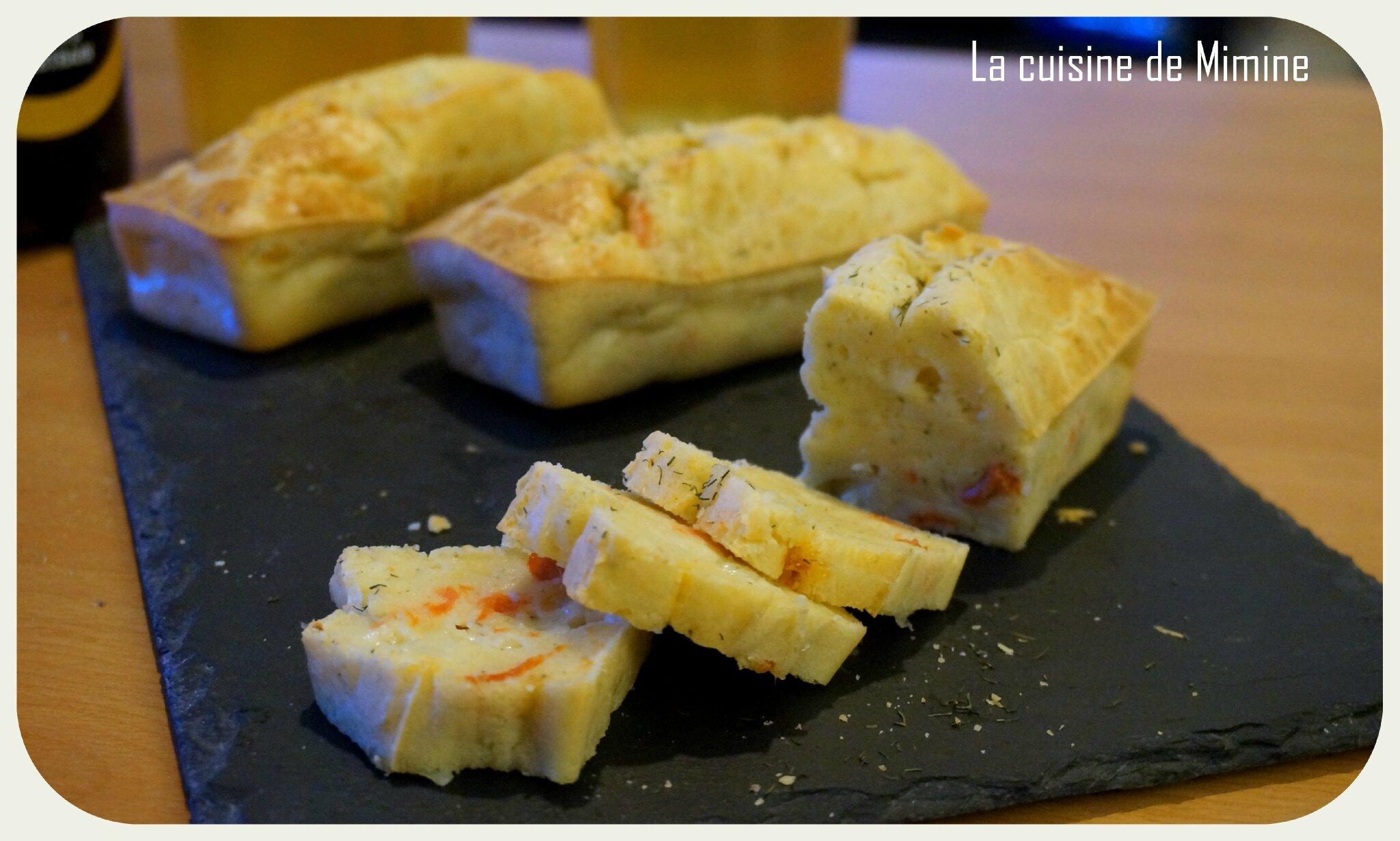 Recette Mini Cake Courgette Saumon Aneth