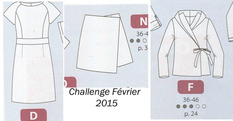 challenge femme février