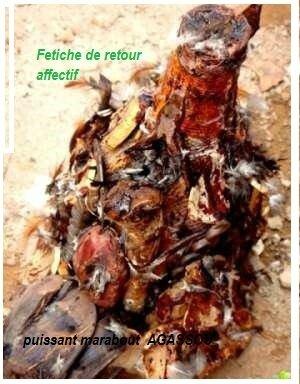 FETICHE DE RETOUR AFFECTIF