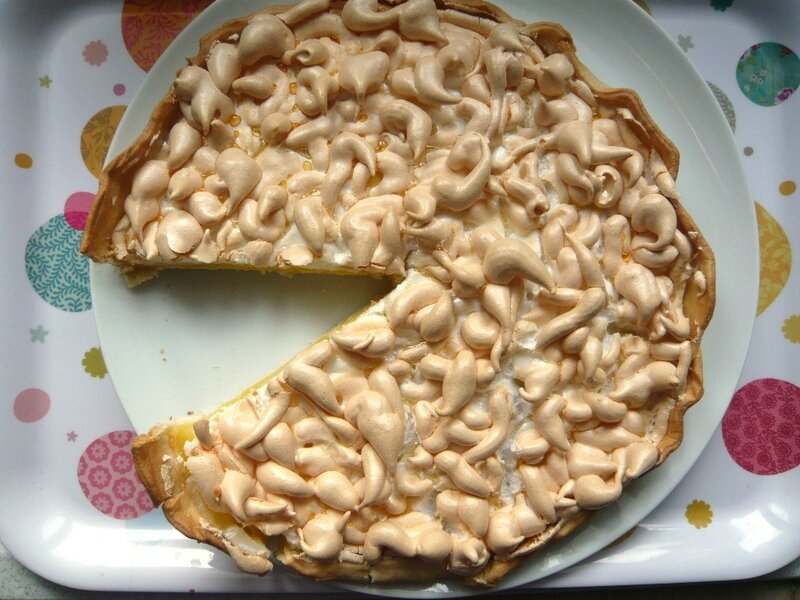 tarte au citron meringuee recette simple