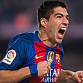 But suarez lors barcelone vs bilbao (1-0)