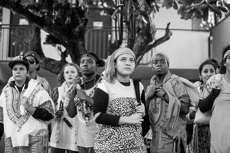 Conférence des oiseaux - théâtre seconde 2016©sophie Negrier-43