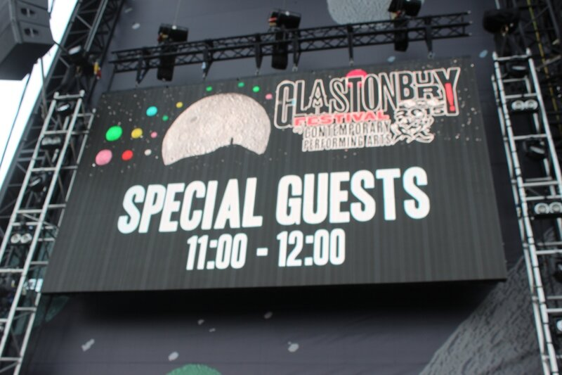 Special Guests Glastonbury festival 2015 Other Stage Friday