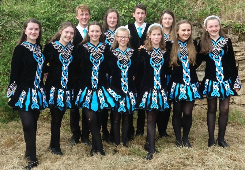 Scoil Rince Mobhi dancers