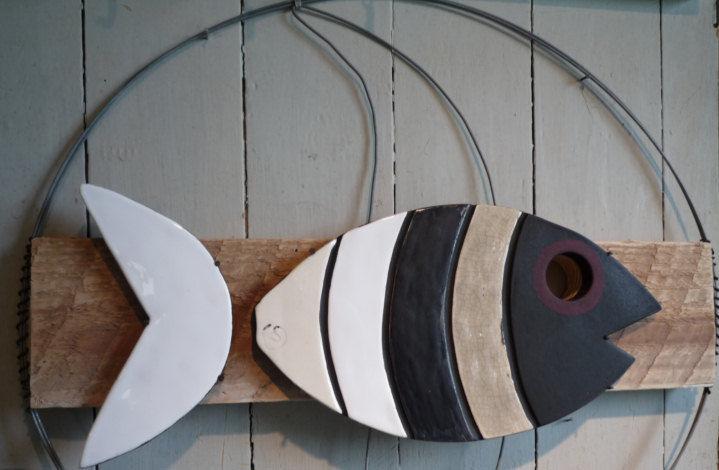 Pêche miraculeuse - Argile & Barbotine