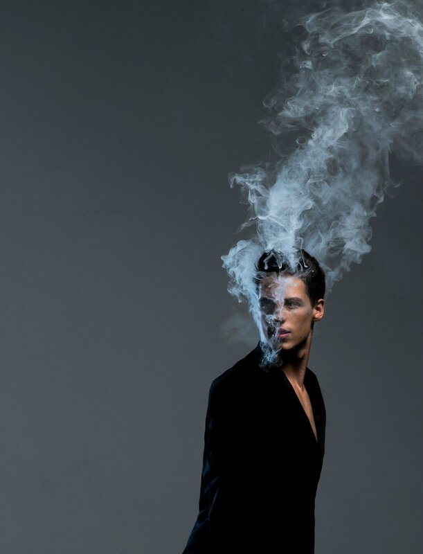 Portrait Fumée